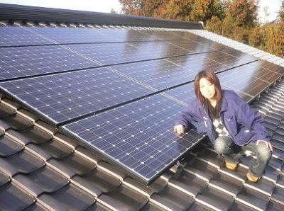 naomi太陽光設置工事